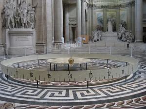 Il pendolo nel Pantheon