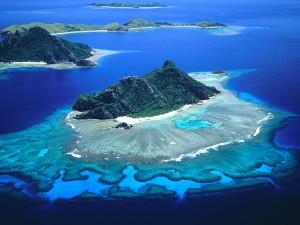Le isole Fiji sull'Antimeridiano
